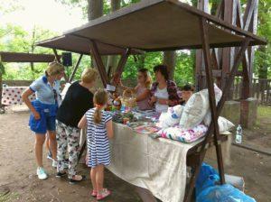 Mieszkańcy Zagórza Śląskiego bawili się wspólnie z turystami