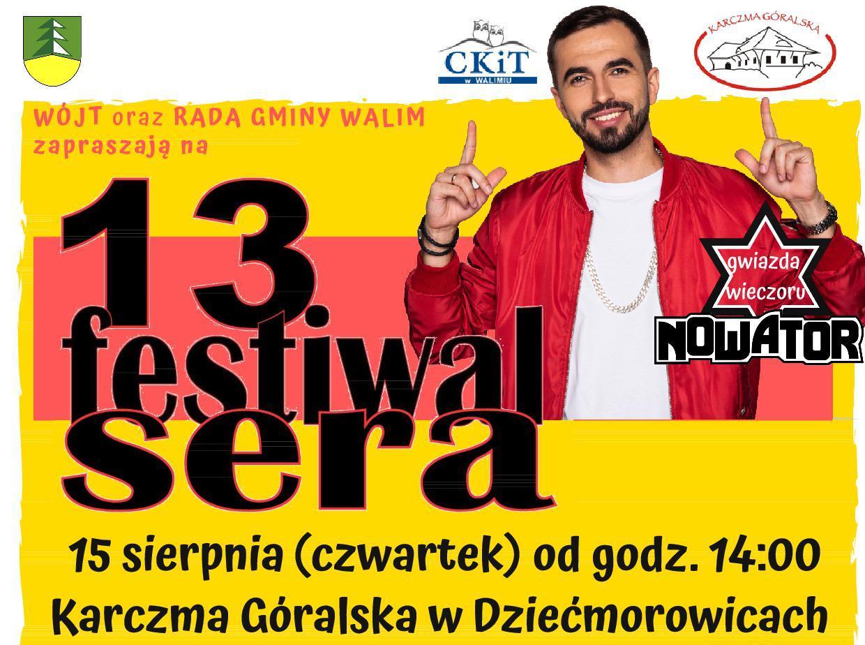Zapraszamy na XIII Festiwal Sera