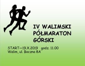 IV Walimski Półmaraton Górski
