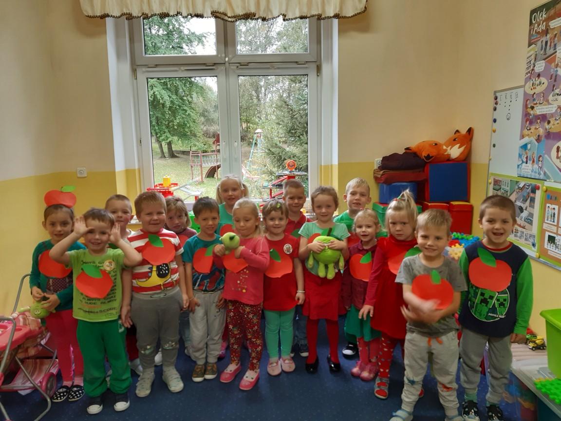 Dzień Jabłuszka w przedszkolu