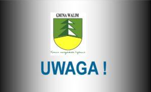 Harmonogram odbioru odpadów komunalnych selektywnie zbieranych na terenie Gminy Walim