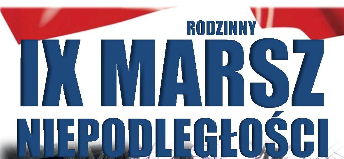 IX Rodzinny Marsz Niepodległości – na sportowo.