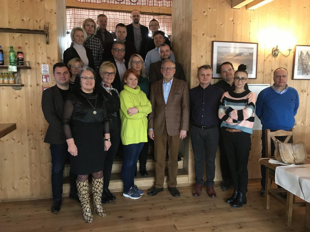 Grupa ds. Rozwoju Przedsiębiorczości, w tym Turystyki na Zamku Grodno