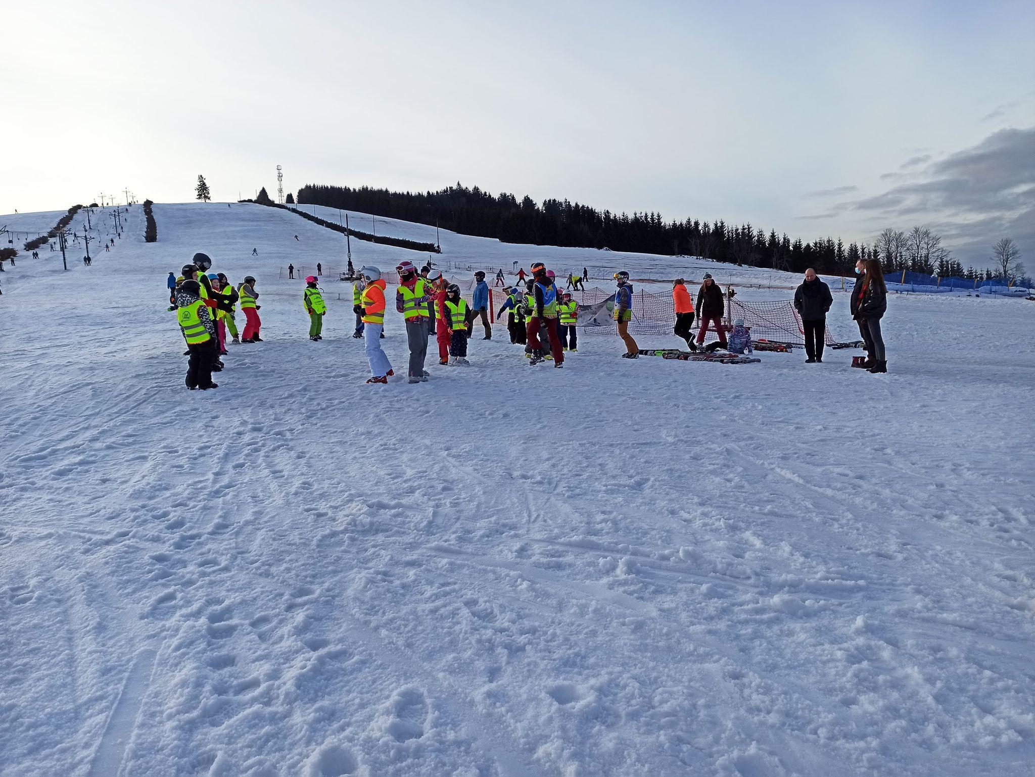 Nauka jazdy na nartach 2021