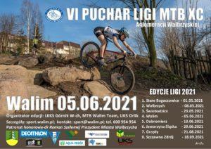 VI Puchar MTB XC Aglomeracji Wałbrzyskiej – edycja Walim.