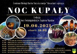 Noc Kupały – spotkajmy się nad Jeziorem Bystrzyckim