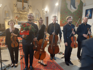 Piękne zakończenie koncertów bachowskich w Gminie Walim.