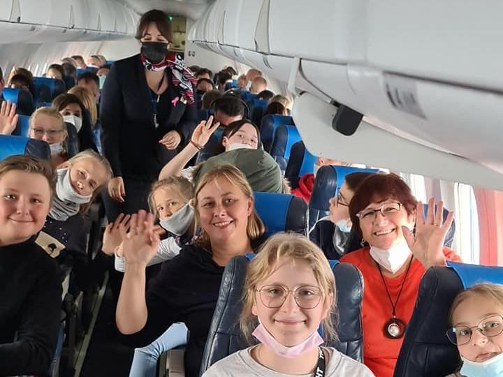 SPA MARZEŃ – uczniowie z PSP w Walimiu odwiedzają Łotwę